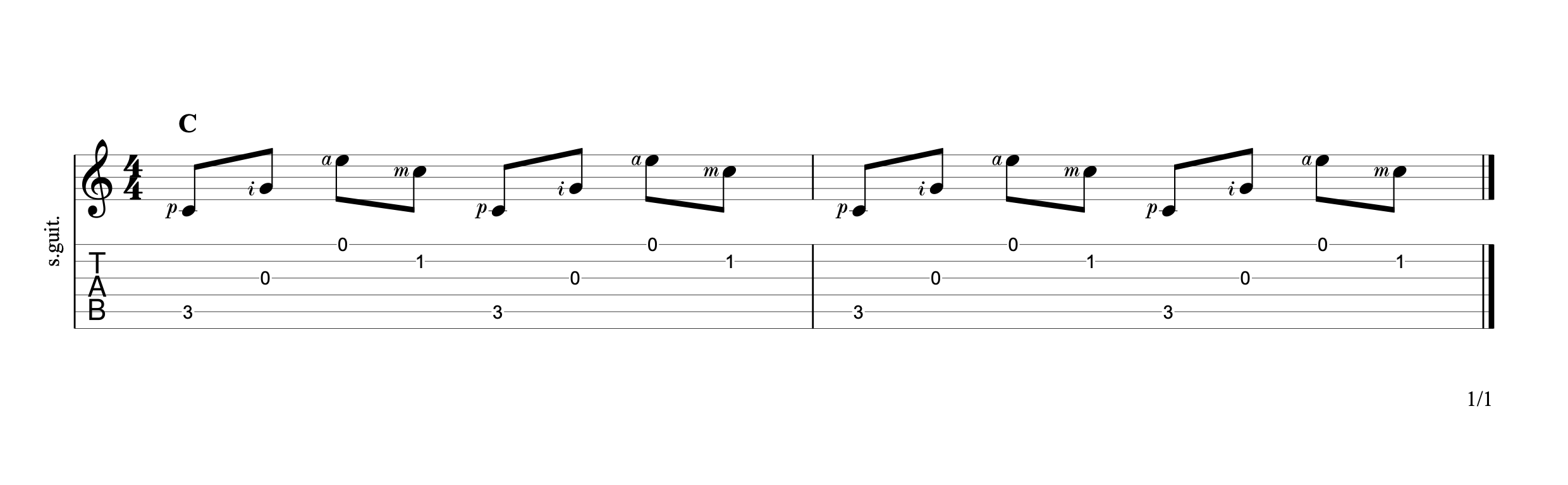 Fingerpicking Chords p8