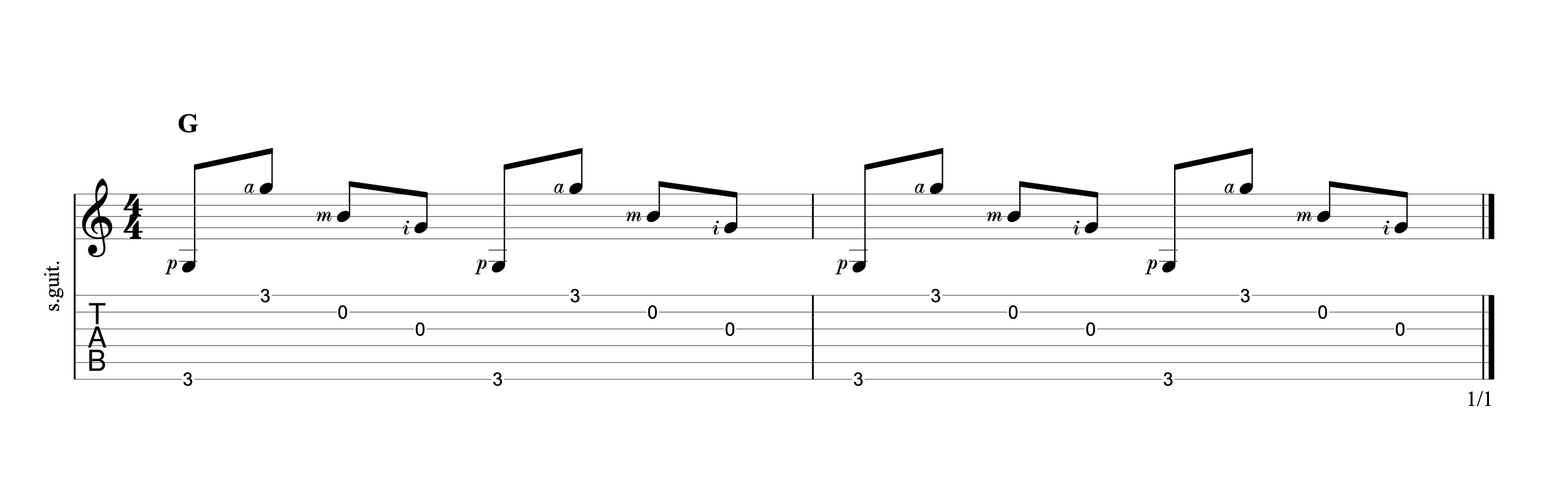Fingerpicking Chords p6