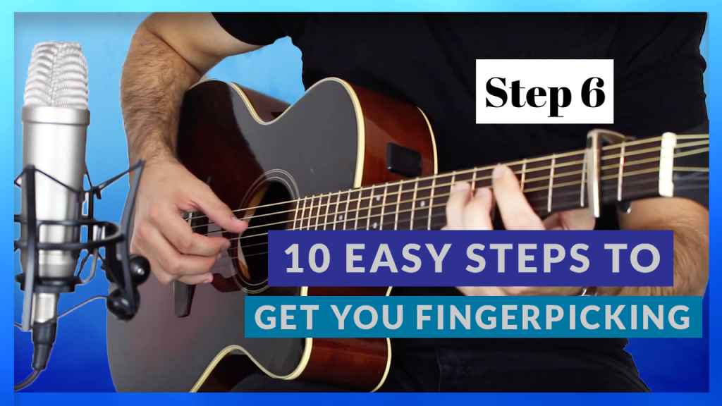 Fingerpicking Strings Simultaneously