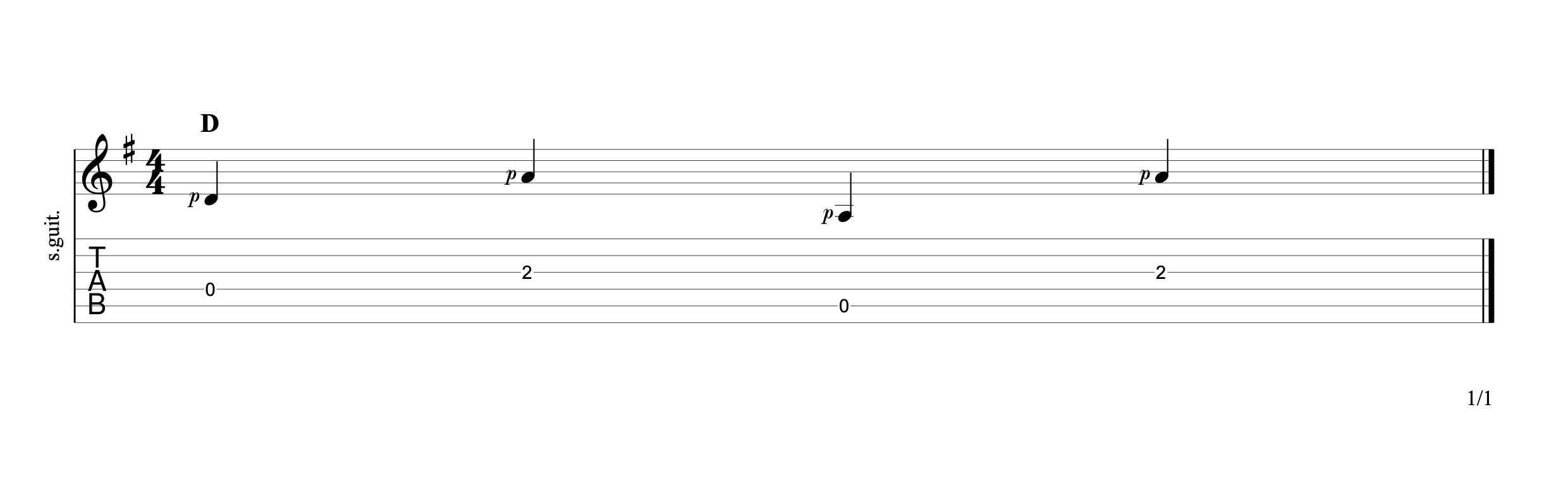 Alternating the Bass 10