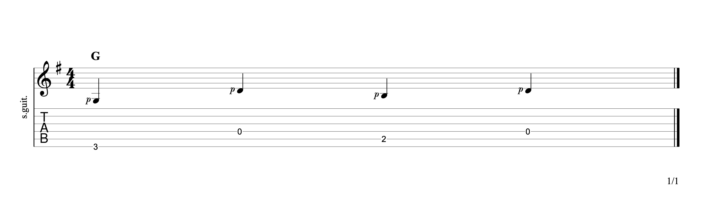 Alternating the Bass 11