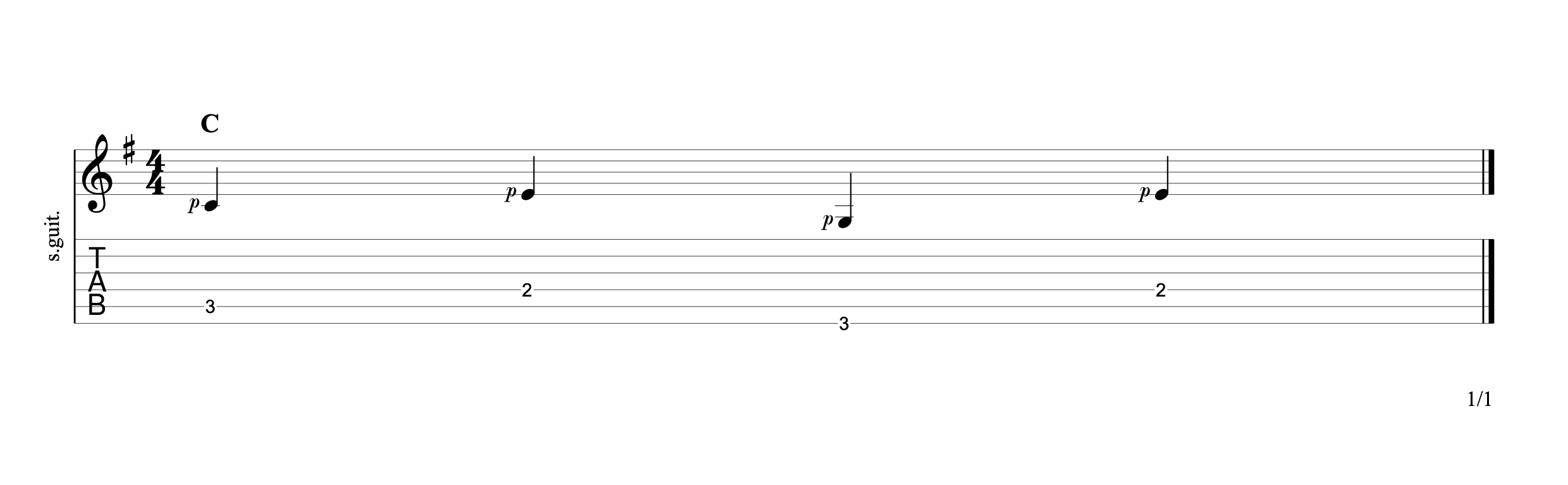 Alternating the Bass 9