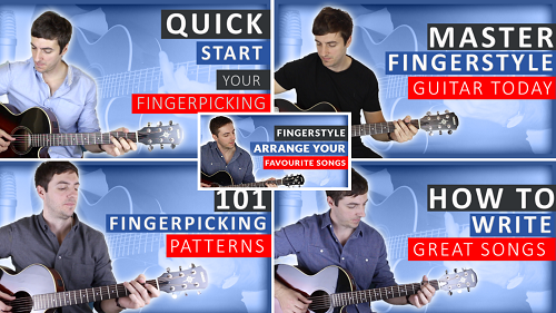 40% OFF Fingerpicking Course Bundle