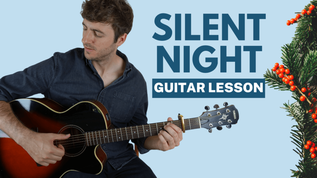 Silent Night Fingerstyle Guitar Lesson