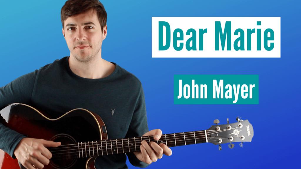 Dear Marie Guitar TAB