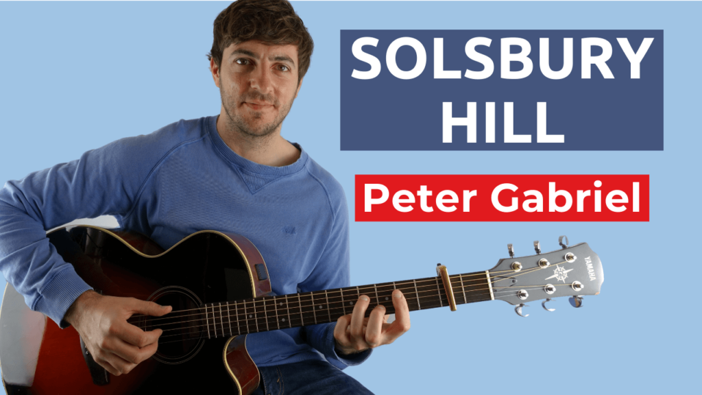 Solsbury Hill Guitar Lesson