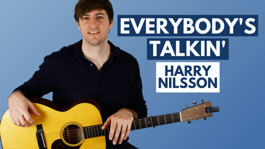 Everybody's Talkin' Guitar Lesson