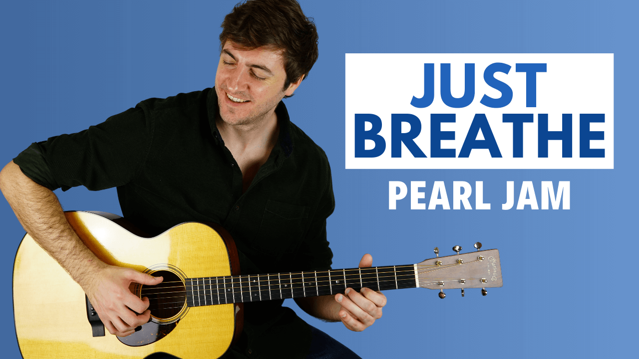Just Breathe Guitar Lesson