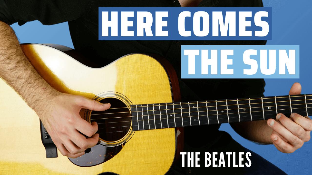 Here Comes the Sun Guitar Lesson